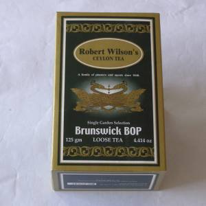 Brunswick BOP 125g Loose Tea carton